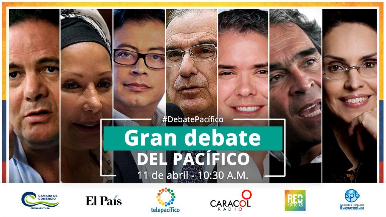 Gran Debate Presidencial del Pacífico 2018